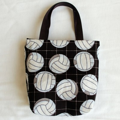 Volleyballs on Black