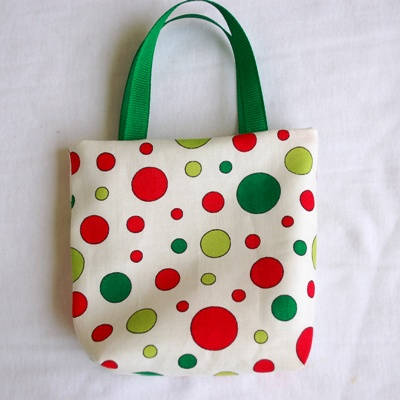 Red and Green Polka Dots