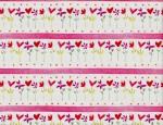 Heart Flower Stripe