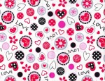 Marcus Fabrics So Sweet Love Collage