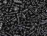 Timeless Treasures Science Chalkboard
