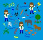 Biology Fabric by Zinnia's Closet