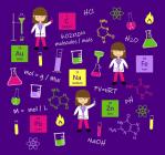 Chemistry Fabric by Zinnia's Closet