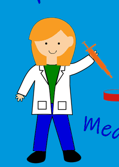 Girl Scientist 2