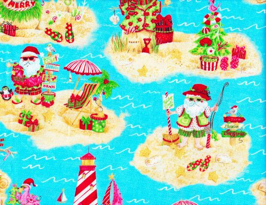 Blank Quilting Holiday Beach